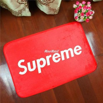 fashionable-supreme-printed-home-mat-carpet-living-room-bedroom-bathroom-mat-rug-camou number 1
