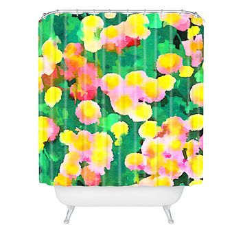 Jacqueline Maldonado Daisy Patch Shower Curtain