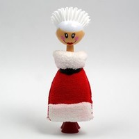 Mrs. Claus Kitchen Brush and Sponge Set
