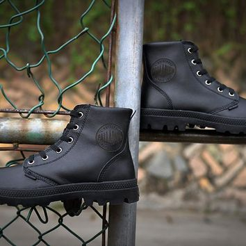 Palladium Pampa Hi Vl Boots Black For Women & Men