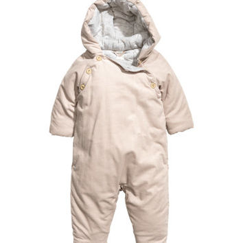 H&M Padded Corduroy Overall $39.99