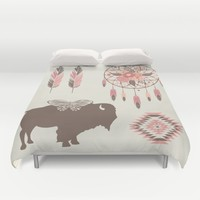 Spirit Walk Duvet Cover by Bohemian Gypsy Jane