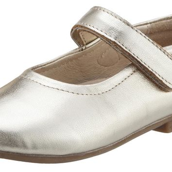 Old Soles Girl's Brule Gold Sista Leather Mary Janes