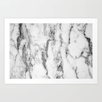Marble Collection: White Marble Art Print, Elegant Marble Art Print, Minimalistic Wall Art, Marble Bedroom Decor, White Grey Marble Wall Art