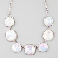 FULL TILT Hologram Statement Necklace