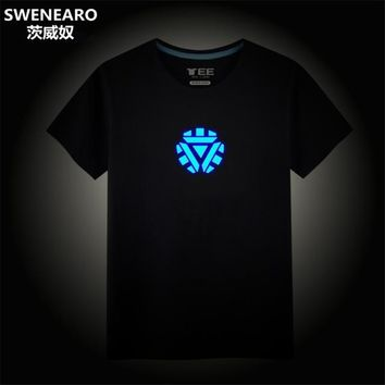 Anime T-shirt graphics SWENEARO Assassin Funny Short Sleeved Tees Men/women Tops Men's 3D T-shirt Glowing/Luminous Costumes Movie Anime Homme T Shirt AT_56_4