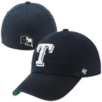 47 Brand Texas Rangers Franchise Harbor Fitted Hat - Navy Blue