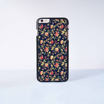 Elegant Vintage Floral Rose Plastic Case Cover for Apple iPhone 6 Plus 4 4s 5 5s 5c 6