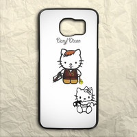 Hello Kitty Daryl Dixon Samsung Galaxy S6 Case
