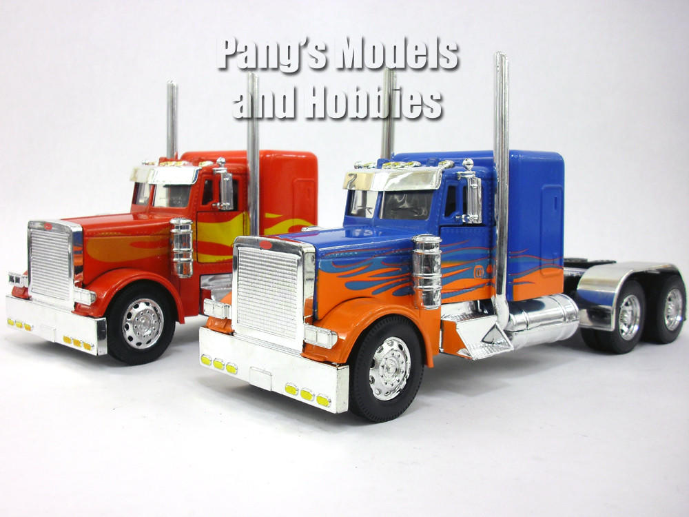 Custom Toy Semi Trucks : Peterbilt custom truck cab diecast from pang s models and