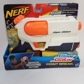Nerf Super Soaker Point Break Pressure Pump Action Water Gun Blaster