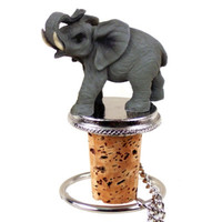 Elephant Wine Bottle Stopper - ATB16