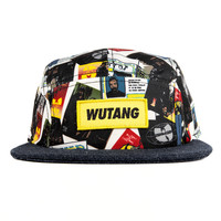 Wutang Brand LTD Discography Snapback in White | Shop Wutang Clan Snapback Hats Online | Wu-Tang Clan Shop