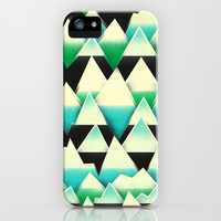 Ice Mountains iPhone & iPod Case by Amelia Senville