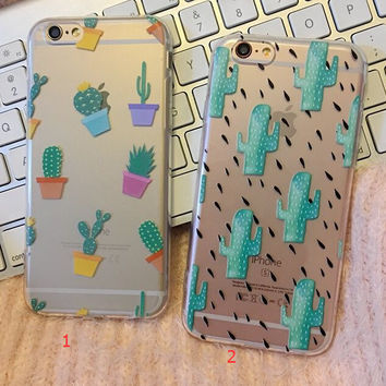 Cactus Case Cover for iPhone 6 6s Plus