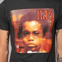 Nas Illmatic Tee- Black