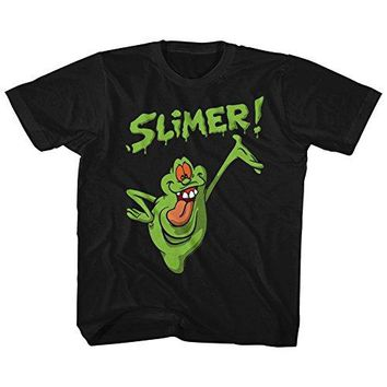 American Classics Real Ghostbusters Animated TV Series Slimer Toddler Little Boys T-Shirt Tee