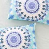 Magical Thinking Dhara Medallion Pillowcase Set- Turquoise One