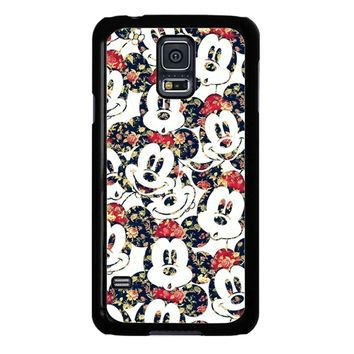 Mickey Mouse Wallpaper Samsung Galaxy S5 Case