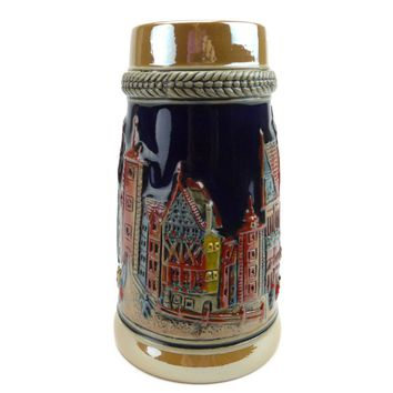 German Village Germany Stein without Lid