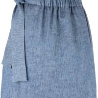 MSGM Elasticated Waistband Detail Skirt - Farfetch