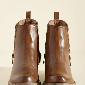 Casual Influence Boot in Cognac