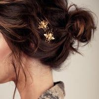 Gold Bumble Bee Bobby Pins - The Original Hair Pins Featured on Etsy, Pinterest & Tumblr