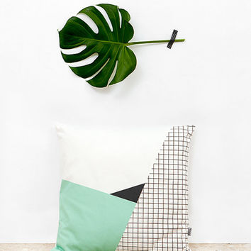 Memphis 2 Cushion Cover organic cotton twill
