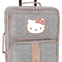 HELLO KITTY ROLLING TRAVEL SUITCASE