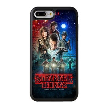 Stranger Things Poster Netflix iPhone 8 Plus Case