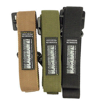 Adjustable Survival Tactical Belt Men Emergency Rescue Rigger Militaria Military