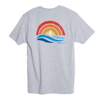 Paradise T-Shirt in Light Gray by Johnnie-O