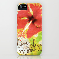 Live In The Moment - Photo Inspiration iPhone & iPod Case by Misty Diller of Misty Michelle Design | Society6