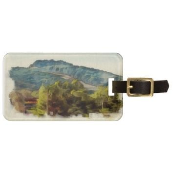 Fall Scene Luggage Tag