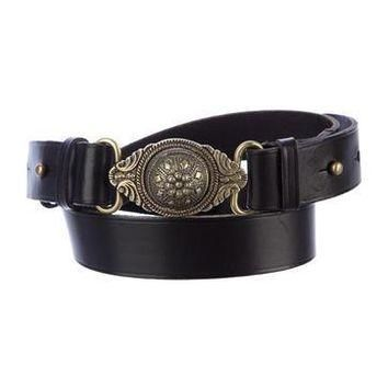 balenciaga leather belt 2