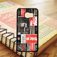 One Direction Best Song Ever Art Collage Samsung Galaxy S6 Case