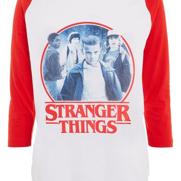 'Stranger Things' Raglan T-Shirt