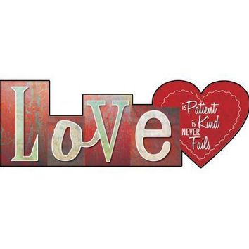 Christian Wall Art - Love Is Patient, Love is Kind