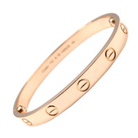 Cartier Gold Love Bangle Bracelet