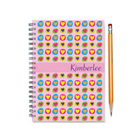 Personal Planner, 2015-2016 day planner, BFF Present, Bridesmaid Gift, Best Friend Present, Personalized Daily Calendar, SKU: pl heart
