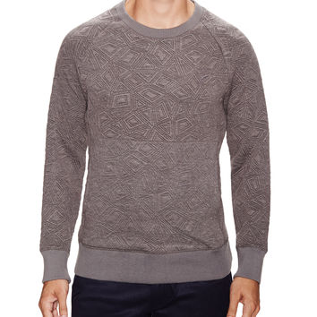 Loyde Embroidered Raglan Pullover