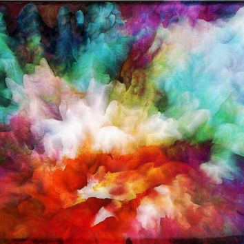 Artwork on Acrylic (Plexiglass) amazing 3D and HD effect Art, colorful, stunning painting, liquid abstract