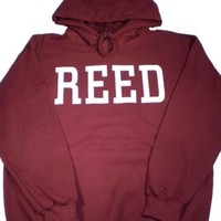 Hood Reed Maroon 50% Cotton 50% Poly | Reed College Bookstore