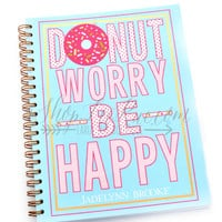 Jadelynn Brooke Donut Worry Journal
