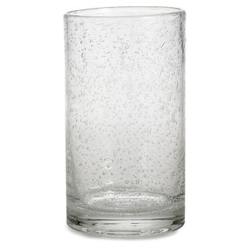 Bubble-Glass Tumblers, Clear, Set of 6, Tumblers, Water & Juice