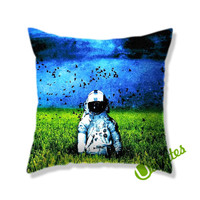 Brand new deja entendu grass Square Pillow Cover