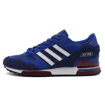 ADIDAS Original New Arrival Mens ZX FLUX EM Running Shoes Breathable  Footwear Super Light Stability  Comfortable For Men