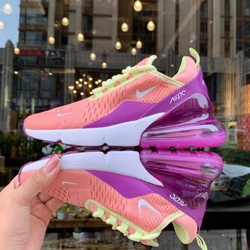 NIKE AIR MAX 270 Tide brand women's sports and leisure cushioning lightweight running shoes