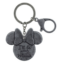 Disney Parks I'll Be your Minnie Keychain New with Tags