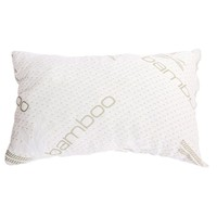 Queen size Hypoallergenic Shredded Memory Foam Pillow - Made in USA